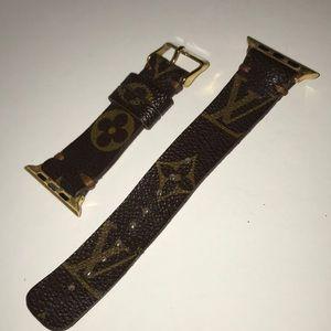 Louis Vuitton Apple Watch strap 42mm